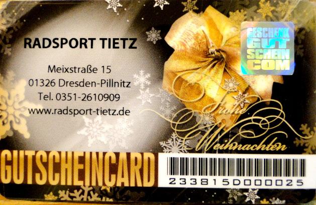 Gutscheincard »Weihnachtsmotiv II«