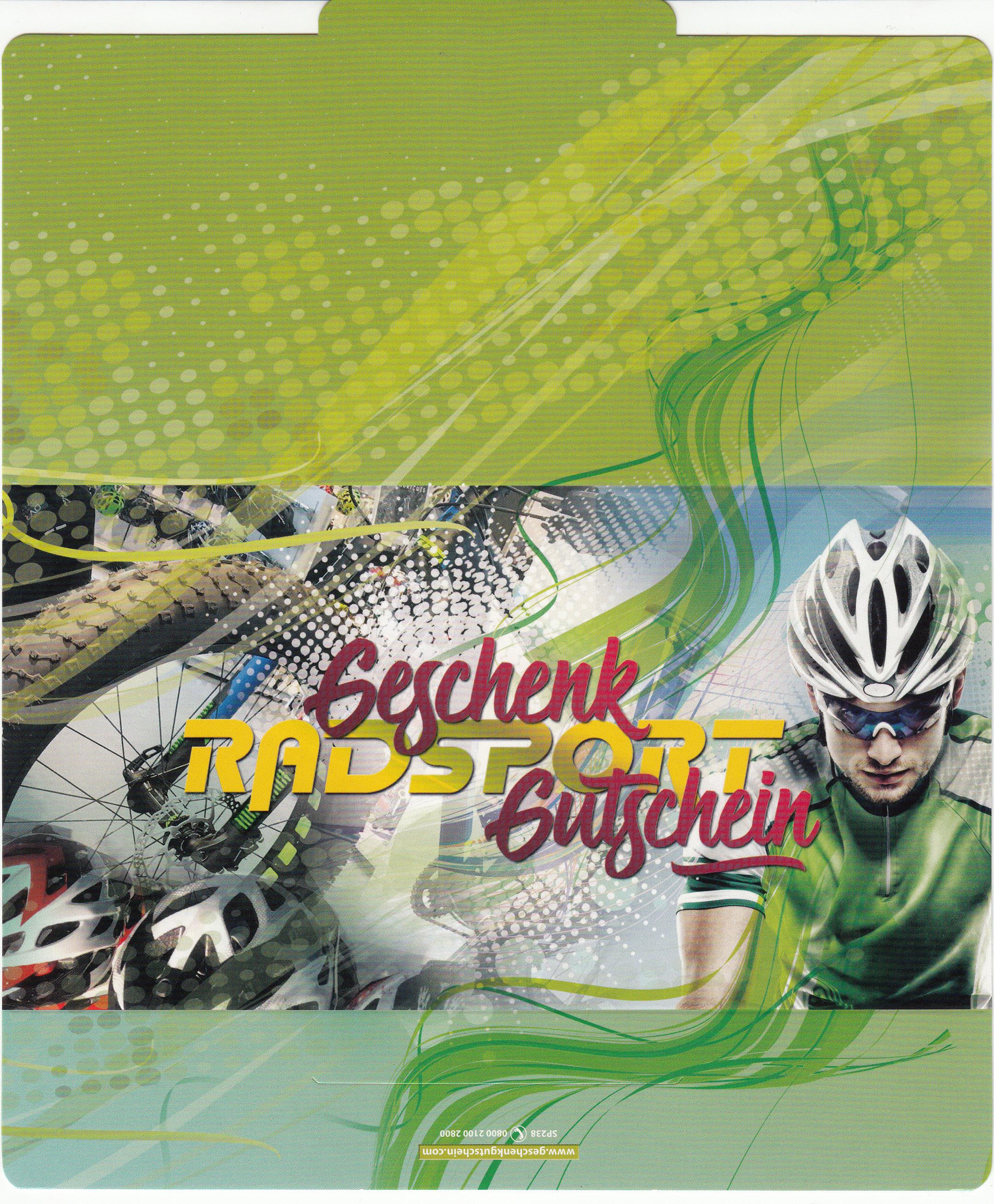 """Gutschein """"Radsport"""""""